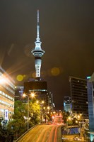 Skytower, Hobson St, Auckland, North Island, New Zealand by David Wall - various sizes