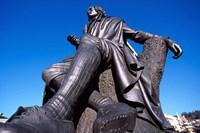 Robert Burns Statue, Octagon, Dunedin, New Zealand by David Wall - various sizes - $43.49