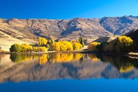 Pisa Range and Lowburn Inlet, Lake Dunstan near Cromwell, Central Otago by David Wall - various sizes