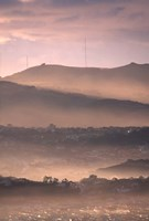 Early Morning over Dunedin and Otago Peninsula, New Zealand by David Wall - various sizes - $43.99