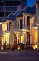 Terrace Houses, Stuart Street, Dunedin, New Zealand by David Wall - various sizes