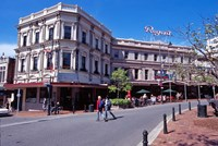 Cafe and Regent Theatre, Octagon, Dunedin, New Zealand by David Wall - various sizes
