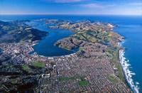 Otago Harbor and Otago Peninsula, Dunedin City, New Zealand by David Wall - various sizes