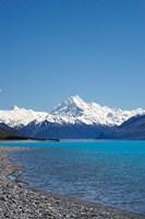 Aoraki Mt Cook and Lake Pukaki, South Island, New Zealand by David Wall - various sizes, FulcrumGallery.com brand