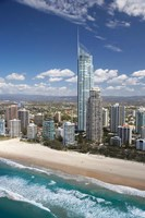 Australia, Queensland, Gold Coast, City skyline by David Wall - various sizes, FulcrumGallery.com brand