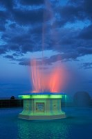 Fountain, Marine Parade, Napier, Hawkes Bay, New Zealand by David Wall - various sizes, FulcrumGallery.com brand