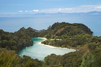 Frenchman Bay from Abel Tasman, South Island, New Zealand by David Wall - various sizes, FulcrumGallery.com brand