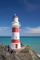 Historic Cape Palliser Lighthouse (1897), Wairarapa, North Island, New Zealand Fine Art Print