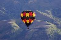 Hot Air Balloon and Mountains, South Island, New Zealand by David Wall - various sizes, FulcrumGallery.com brand