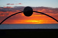 Millennial Arch Ecliptic, Sunset, No Island, New Zealand Fine Art Print