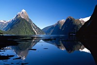 Mitre Peak & Milford Sound, Fiordland National Park, New Zealand Fine Art Print