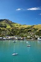 New Zealand, South Island, Canterbury, Akaroa Harbor by David Wall - various sizes, FulcrumGallery.com brand