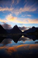 New Zealand, South Island, Fiordland, Milford Sound Fine Art Print