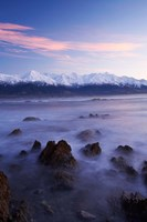 New Zealand, South Island, Seaward Kaikoura Range, Waves by David Wall - various sizes