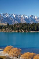 The Remarkables, Lake Wakatipu, South Island, New Zealand by David Wall - various sizes