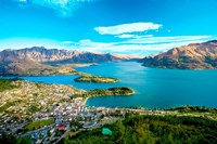View Towards Queenstown, South Island, New Zealand Fine Art Print