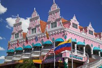 Royal Plaza Shopping Mall, Oranjestad, Aruba, Caribbean Fine Art Print