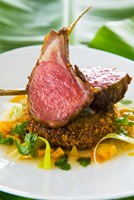 Spiced Lamb Rack cuisine, Antigua, Caribbean by Nico Tondini - various sizes