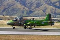Strikemaster jet, Warbirds over Wanaka, War plane, South Island, New Zealand by David Wall - various sizes