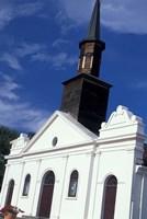 Village Church, Martinique, Caribbean Fine Art Print