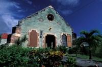 Village Church, Antigua, Caribbean Fine Art Print