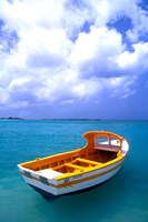 Close-up of Fishing Boat, Aruba Fine Art Print