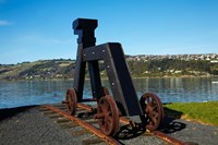 Dog sculpture, Otago Boat Harbor Reserve, Dunedin, Otago, New Zealand by David Wall - various sizes - $37.49
