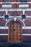 Entrance to old Dunedin Prison (1896), Dunedin, South Island, New Zealand by David Wall - various sizes