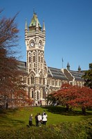 Graduation photos at University of Otago, Dunedin, South Island, New Zealand Fine Art Print