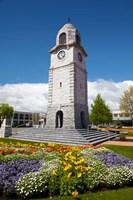 Memorial Clock Tower, Seymour Square, Marlborough, South Island, New Zealand (vertical) Fine Art Print
