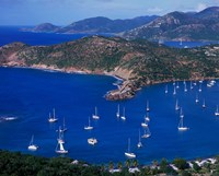 English Harbour, Antigua, Caribbean Fine Art Print