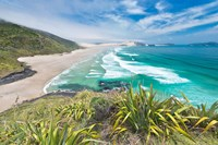 New Zealand, North Island, Cape Reinga, Te Werahi Beach by Rob Tilley - various sizes
