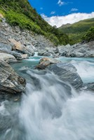 New Zealand, South Island, Mt Aspiring National Park, Haast River by Rob Tilley - various sizes, FulcrumGallery.com brand