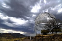 Hobby-Eberly Telescope Observatory Dome at McDonald Observatory Fine Art Print