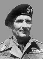 Field Marshal Bernard Law Montgomery by John Parrot - various sizes, FulcrumGallery.com brand