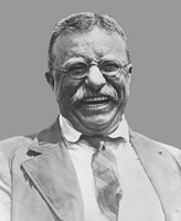 Theodore Roosevelt Smiling