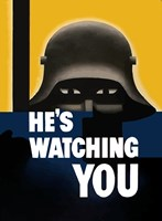 He's Watching You by John Parrot - various sizes