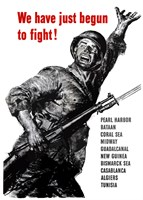 We Have Just Begun to Fight! by John Parrot - various sizes