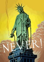 Never! by John Parrot - various sizes, FulcrumGallery.com brand