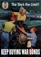Keep Buying War Bonds by John Parrot - various sizes