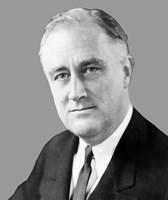 Franklin Delano Roosevelt by John Parrot - various sizes - $47.49