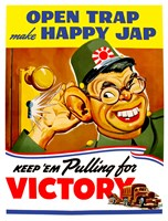 Keep Em Pulling for Victory by John Parrot - various sizes