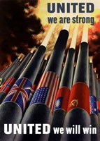 United We Are Strong, United We Will Win by John Parrot - various sizes - $47.49