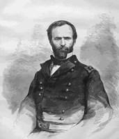 Civil War General William Tecumseh Sherman by John Parrot - various sizes