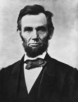 Civil War era Vector Photo of President Abraham Lincoln Fine Art Print