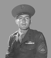 Gunnery Sergeant John Basilone by John Parrot - various sizes