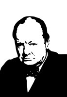 Sir Winston Churchill Fine Art Print