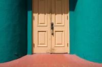Bahamas, New Providence Island, Nassau, Doorway by Paul Souders - various sizes