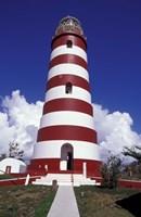 Candystripe Lighthouse, Elbow Cay, Bahamas, Caribbean Fine Art Print