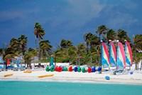 Watercraft Rentals at Castaway Cay, Bahamas, Caribbean by Kymri Wilt - various sizes